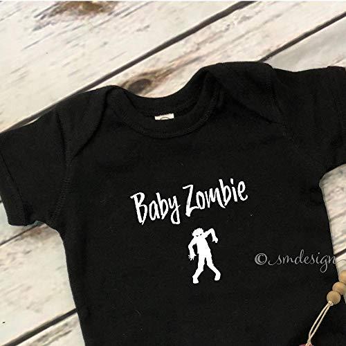 Baby Zombie Onesie- Baby Shower Halloween Gift Idea For New Baby First Halloween Onesie For Baby Gift Idea Baby Zombie Onesie Halloween]()