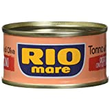 Rio Mare Tuna in Olive Oil with Chili, 80g x 3, 240 Grams