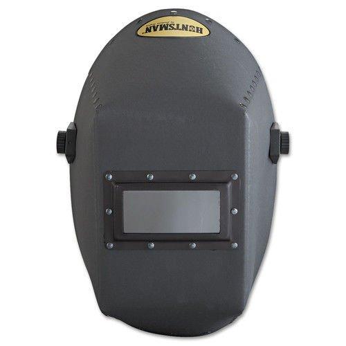 400 Vulcanized Fiber Welding Helmet With 117A Headgear And 2'' X 4 1/4'' Aluminum Rigid Lens Holder by Huntsman (Image #2)