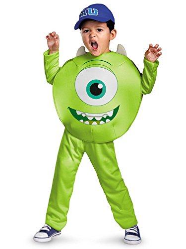 Disney Pixar Monsters University Mike Toddler Classic Costume, -