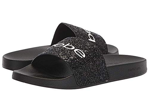 bebe Women's FRAIDA Slide Sandal, Black, 7 Medium US from bebe