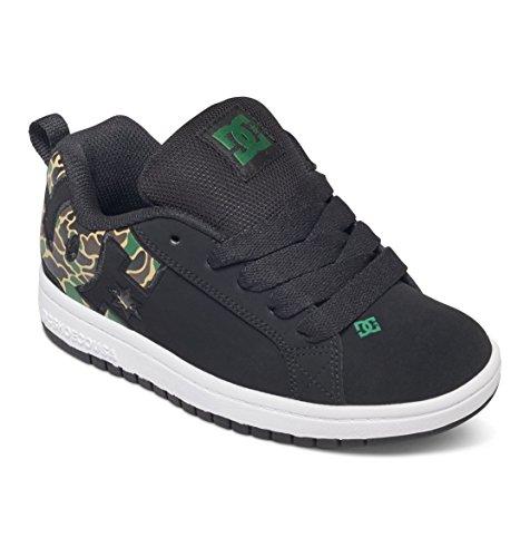 Nobuck Shoe Niño Dc Cuero Zapatillas Para Graffik D0301131b De Se Youth Shoes Court camo Black w7Hv7qT