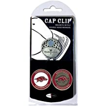 NCAA Cap Clip With 2 Golf Ball Markers
