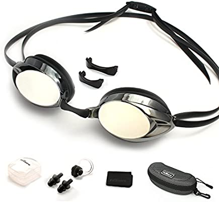 16a231a90067 Amazon.com   Firesara Swimming Goggles