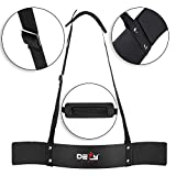 DEFY Heavy Duty Arm Blaster for Biceps and Triceps Workout Ideal Bicep Isolator & Muscle Builder for Bodybuilders and Weight Lifters with Advanced Neoprene Padding for Secure & Comfort Workout (Black)