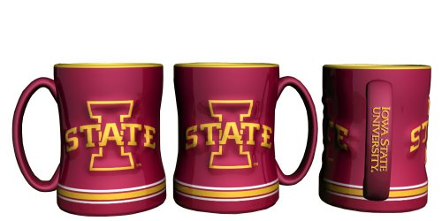 (Iowa State Cyclones Sculpted Coffee)