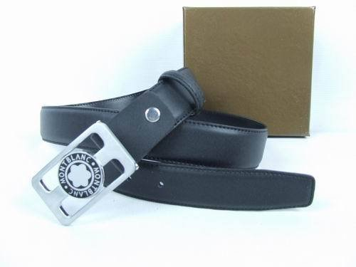 Montblanc Reversible and Smooth Square Men's Leather Belt (Confederate Rebel Flag Belt Buckle)
