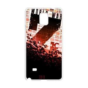 Samsung Galaxy Note 4 Phone Case White World War Z W6869758