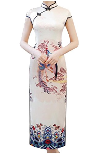 Coolred Dresses up 17 Dress Cheongsam Women Wedding Party Mermaid Stand Collar 1zwqp1nr