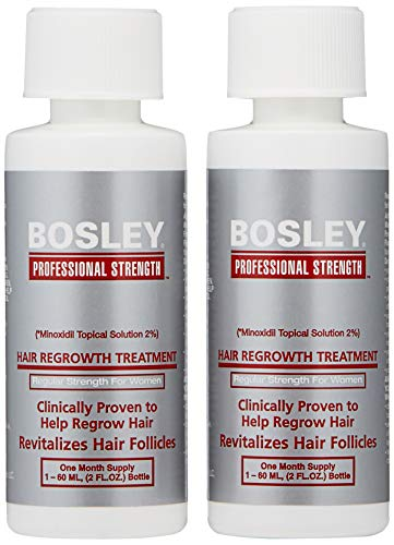 Bosley Hair Regrowth Treatment Regular Strength for Women, 2 oz