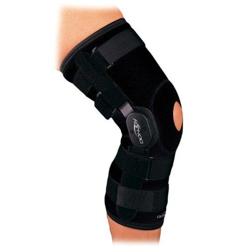 DonJoy Playmaker Neoprene Knee Brace (Large Sleeve Open Back w/Patella ()
