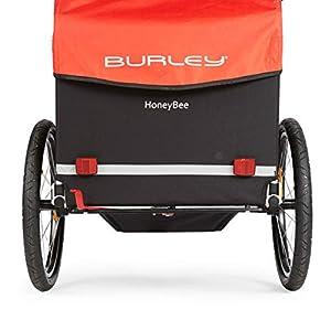 Best Child Bike Trailers - Burley Design Honey Bee Bike Trailer, Red