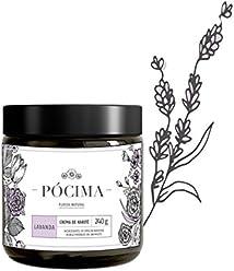 Pócima - Crema tipo manteca de Karité. Contiene Aceite Esencial de Lavanda y Aloe Vera certificado Orgánico. 240 g…