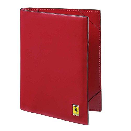 Mens Ferrari Cavallino Rampante Passport Wallet One size Black by Ferrari
