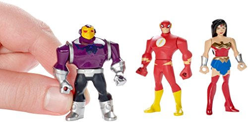 41RUHDCLmQL DC Justice League Action Mighty Minis Wonder Woman, The Flash, & Mongul Mini Figures, 3 Pack