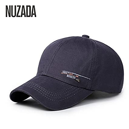 ... NUZADA Men Women Baseball Caps Snapback Hats Cap Hip Hop Can Adjust  Size Simple Fashion cotton 100% cm-004 Online at Low Prices in India -  Amazon.in e82b40fee