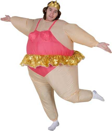 Inflatable Ballerina Adult Costume - Adult Costumes - Inflatable Ballerina