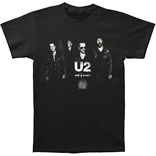 U2 Men's Sons Of Innocence Photo Slim Fit T-shirt Large for sale  Delivered anywhere in USA