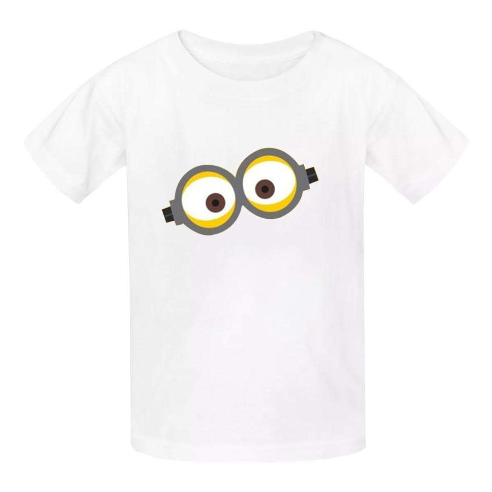 TSDDM Little Yellow Man New Summer Cotton Boys t-Shirts Short Sleeve Solid T-Shirs