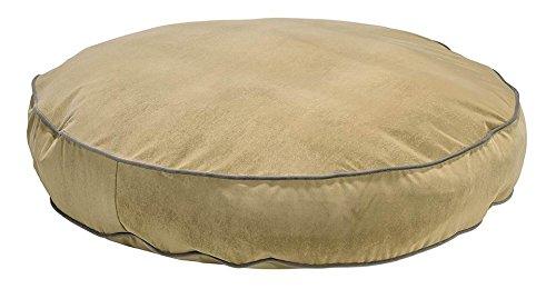 Bowsers Super Soft Round Bed, Medium, Khaki