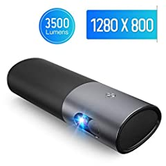 SpecificationBrightness:3500 LumensLG Battery: Bulit-in (15600mAh)Speaker: Built-in, 2 sides on projectorProjector Lens: High Transparent Coated LensResolution: 1280*800 (supports 1080p and 3D)Projector technology: DLPLight Source: LED Multi-...