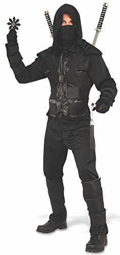 Rubie's Men's Dark Ninja Costume, As Shown, Standard for $<!--$30.06-->
