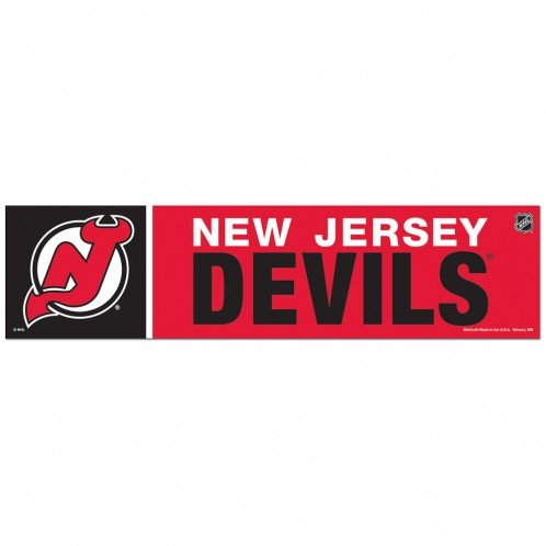 Wincraft NHL New Jersey Devils WCR13339613 Bumper Strip 3 x 12