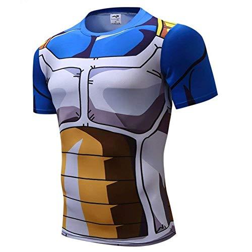 230935a0e Goku Vegeta Dragon Ball Z DBZ Compression T-Shirt Muscle Shirt Super Saiyan