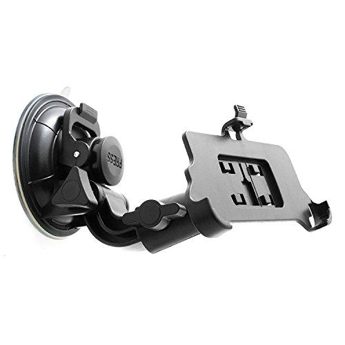 System-S–Supporto da auto supporto auto ventosa parabrezza auto rotazione a 360° per iPhone 7