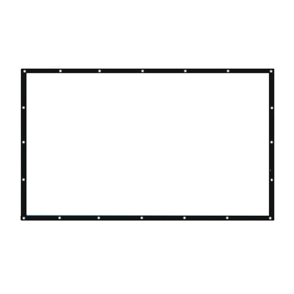 Hanbaili 4 3 Schermo per esterni da 150 per interni Schermo per proiettori cinematografici per presentazioni di Home Cinema Teatro per esterni
