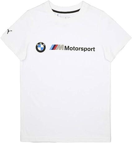 PUMA BMW MMS Kids Logo tee Camiseta, Unisex niños: Amazon.es: Deportes y aire libre