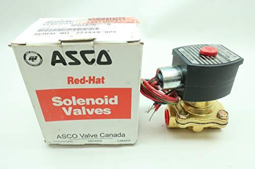 ASCO EF8210G34 RED-HAT II Solenoid Valve 120V-AC 1/2IN NPT