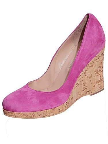 Marion Spath Damen 26-11-11 Wildleder Designer Pumps Pink