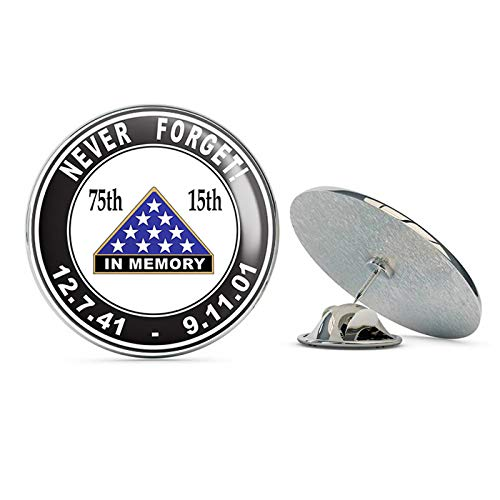 (TG Graphics Pearl Harbor 9/11 Anniversary Steel Metal 0.75