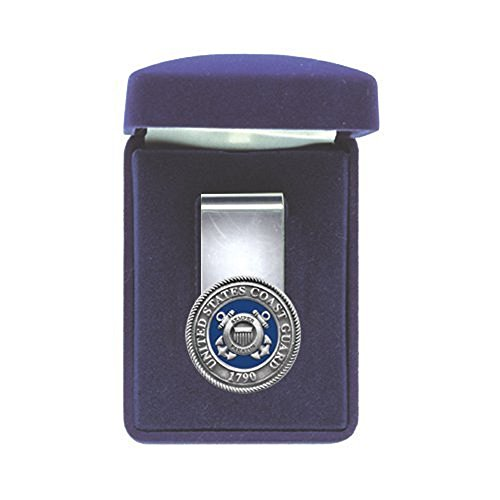 (COAST GUARD MILITARY, ARMED FORCES SPRING STEEL MONEY CLIP)