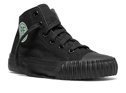 PF Flyers Boys' KC2001SL, Black, 3 Medium US Little Kid ()