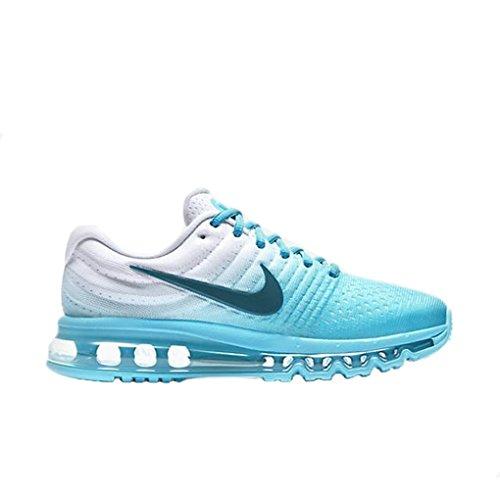 Womens Nike Air Max 2017 Running Shoe Polarized Blue Legion Blue 11 0