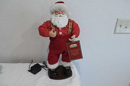 Jingle Bell Rock Santa Animated Dancing Singing Santa Claus