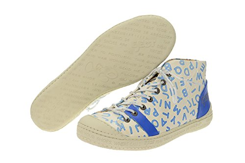 Lace Blau 002 Weiß Eject Half Blue Classic Shoe 16225 Up Women's gScSYU
