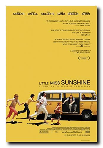 Little Miss Sunshine Movie Poster 24x36 Inch Wall Art Portrait Print