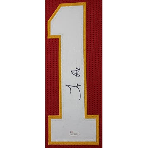 17dcb520 Tyreek Hill Autographed Red Kansas City Chiefs Jersey - Beautifully ...