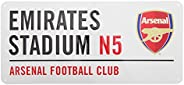 Arsenal Fc Football Street Sign Official Board