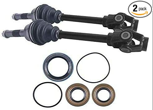 East Lake Axle front left//right cv axle /& wheel bearing kit compatible with Polaris Magnum 325//425 1995 1996 1997 1998 1999 2000 2001 2002