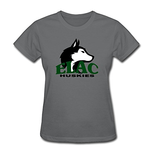 Price comparison product image ZHENGAIMEI Women's Elac Logo Awesome Brand New T Shirts XS DeepHeather