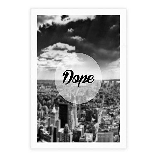 Dope  White 11 x 14 Inch Giclee Art Print Poster by