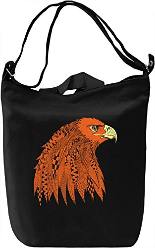 Eagle Borsa Giornaliera Canvas Canvas Day Bag| 100% Premium Cotton Canvas| DTG Printing|