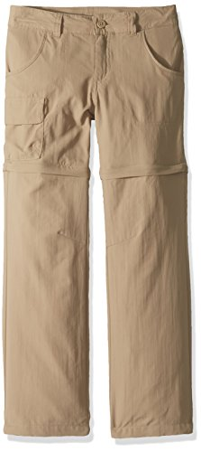 (Columbia Youth Girls Silver Ridge III Convertible Pants, British Tan, Medium)