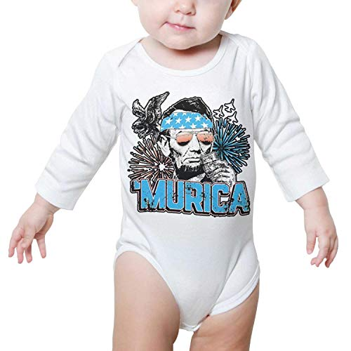 PoPBelle Murica Abe Lincoln Memorial Day Newborn White for sale  Delivered anywhere in Canada