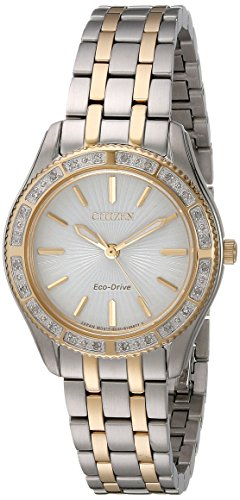 Citizen Women's EM0244-55A Dress Two-Tone Stainless Steel Watch (55a Eco Citizen Drive)