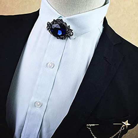 FGYNHVDG Corbata de Metal Vestido de Novia Coreano para Hombre ...